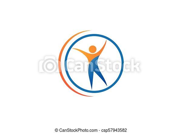 Health care logo - csp57943582
