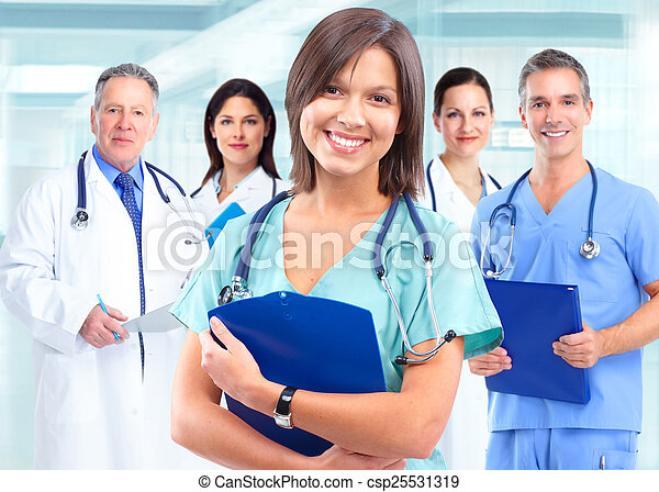 Health care medical doctor woman. - csp25531319