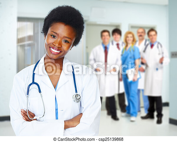 Health care medical doctor woman. - csp25139868