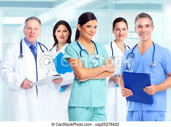 Health care medical doctor woman. - csp25278422
