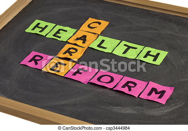 health care reform crossword - csp3444984