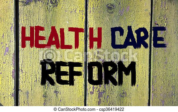 Health Care Reform - csp36419422