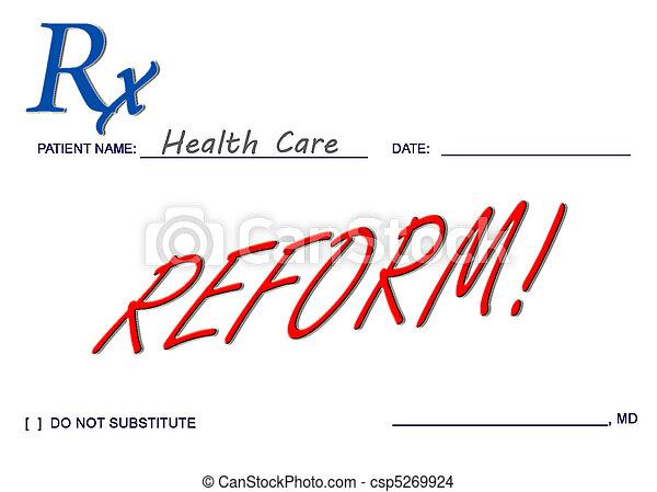 Health Care Reform - csp5269924
