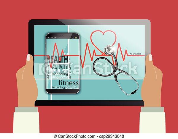 Health concept - csp29343848