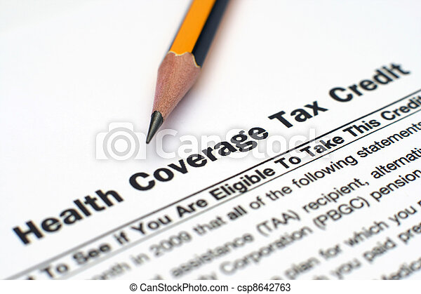 Health coverage tax credit - csp8642763