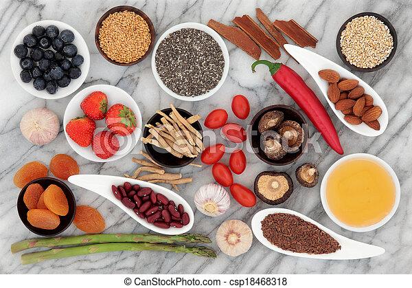 Health Food - csp18468318
