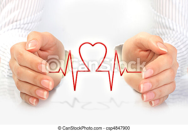 Health insurance concept. - csp4847900