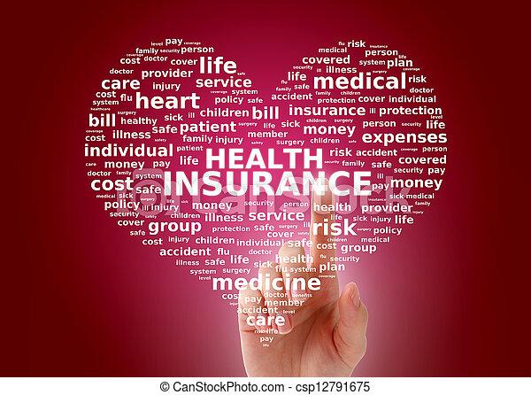 Health insurance. - csp12791675