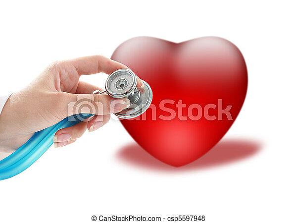 Health insurance. - csp5597948