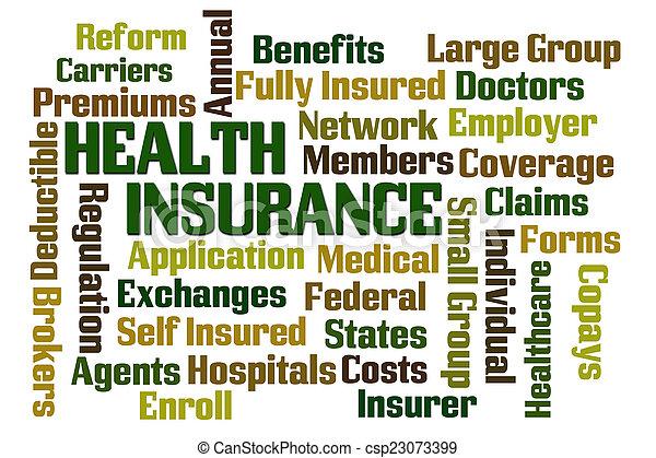 Health Insurance - csp23073399