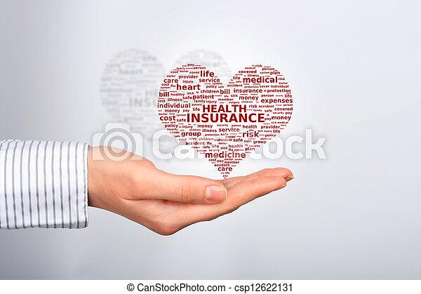 Health insurance. - csp12622131