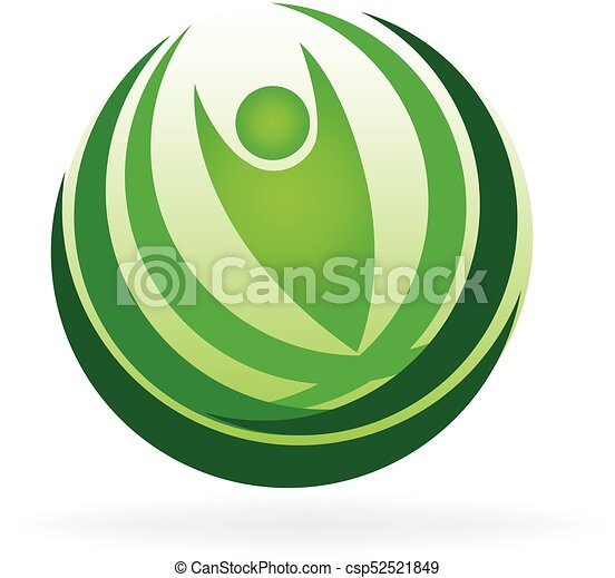 Health nature logo - csp52521849