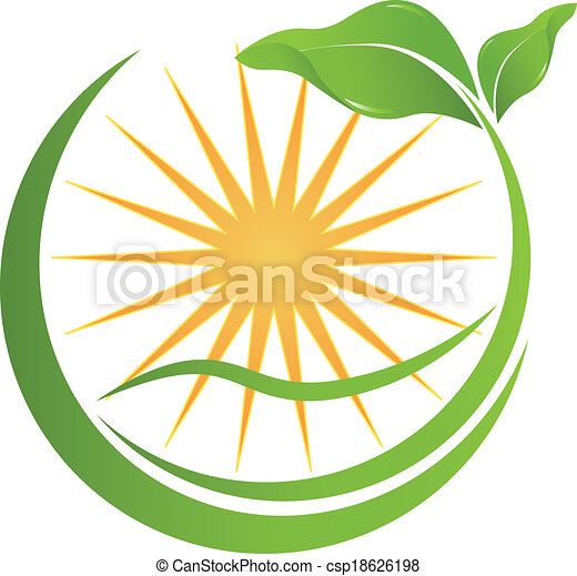 Health nature logo for your company - csp18626198