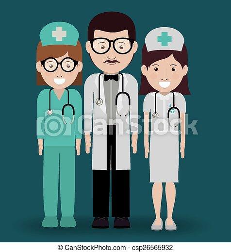 Health professional design - csp26565932