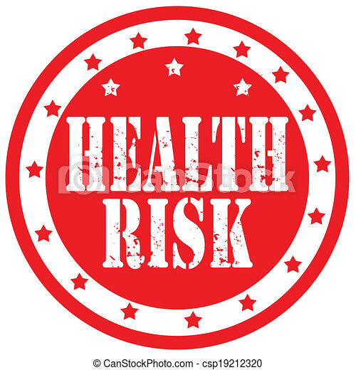 Health Risk-stamp - csp19212320