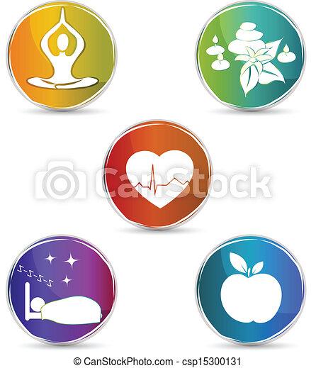 Health Symbol Set Health Symbols Healthy Heart Healthy Food Good