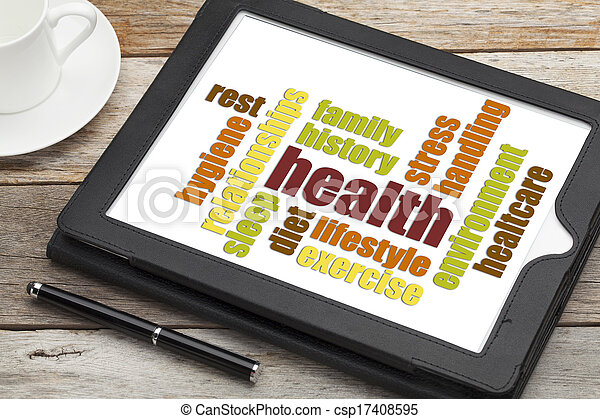 health word cloud - csp17408595