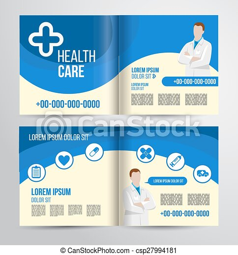healthcare brochure - csp27994181