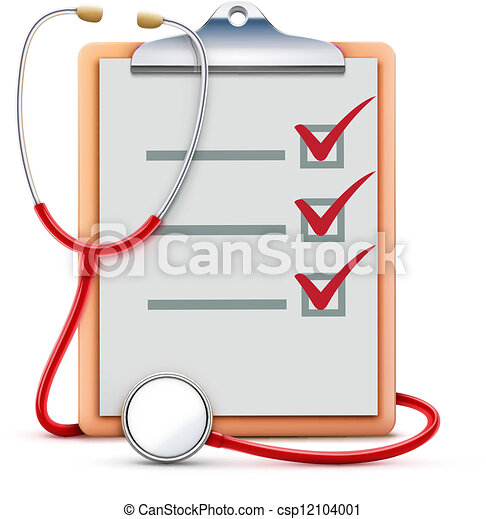 vector illustration of healthcare concept with cool check vector rh canstockphoto com healthcare clipart healthcare clipart