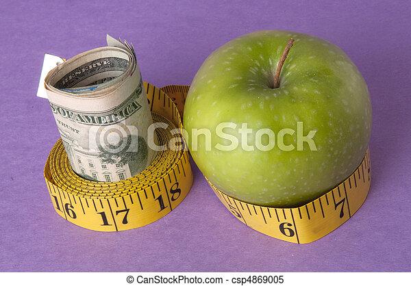 healthcare, cout, ou, mesurer, education - csp4869005
