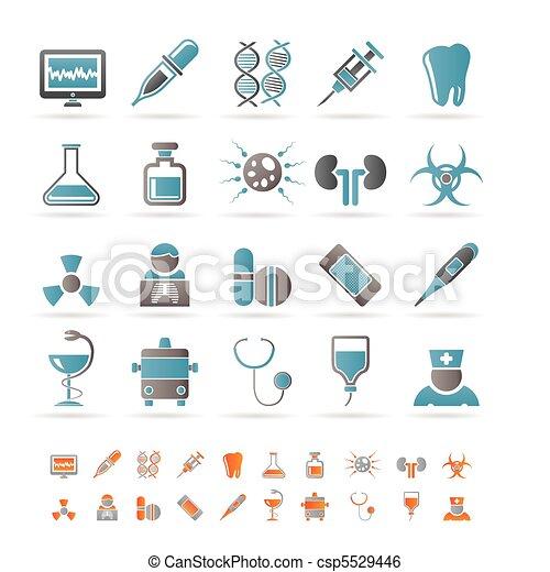 Healthcare, Medicine and hospital  - csp5529446
