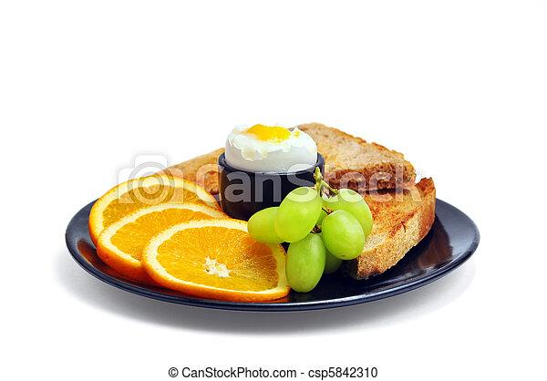 Healthy delicious breakfast - csp5842310