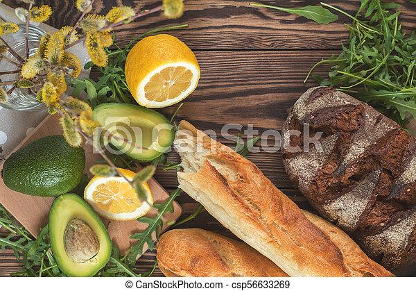 Healthy delicious nutritious breakfast - csp56633269