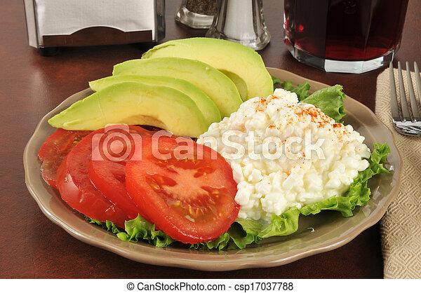 Healthy diet lunch - csp17037788