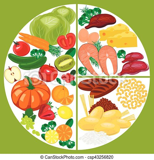 healthy eating food plate nutrition balance healthy eating food rh canstockphoto com nutrition facts clipart nutrition clipart free