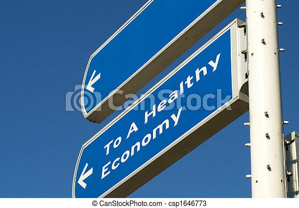 Healthy Economy - csp1646773
