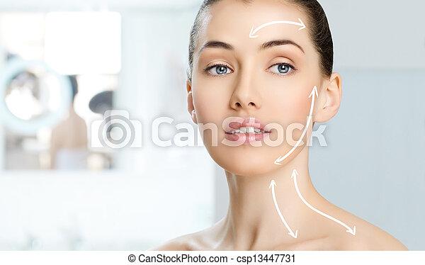 healthy face - csp13447731