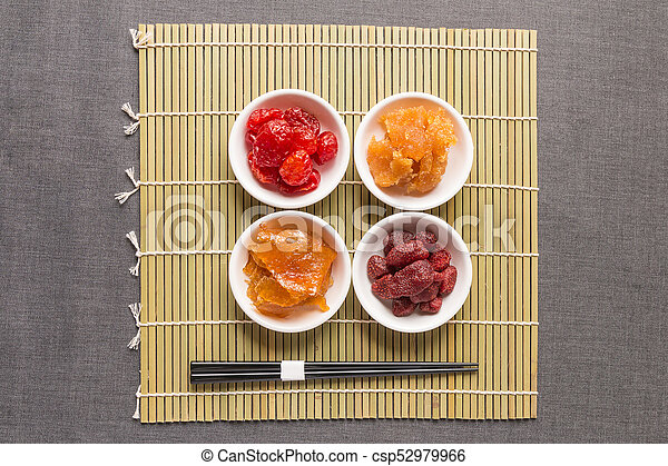 Healthy food, Dried fruit - csp52979966