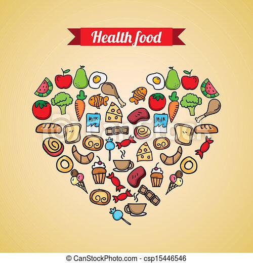 healthy food - csp15446546