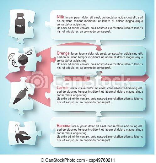 Healthy Food Infographics - csp49760211