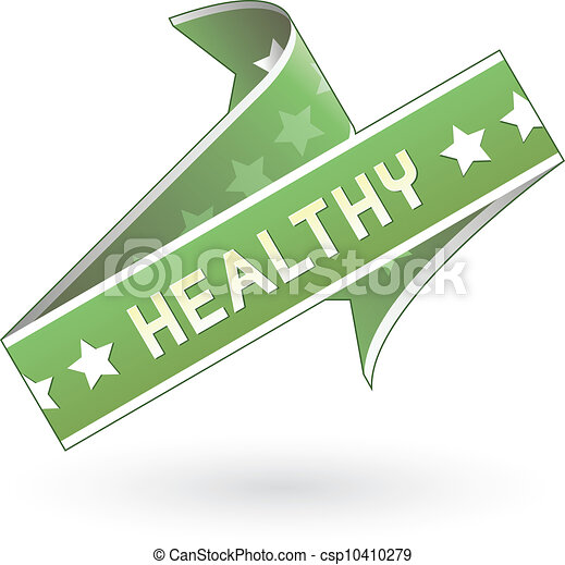 Healthy food or product label - csp10410279