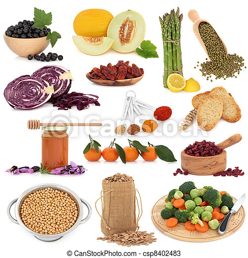 Healthy Food Sampler - csp8402483