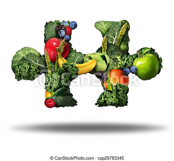 Healthy Food Solution - csp29783345