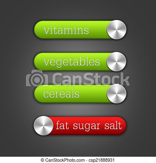 healthy  food switches - csp21888931
