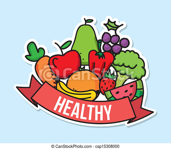 healthy food over blue background vector illustration healthy eating clip art for kids healthy eating clip art for kids