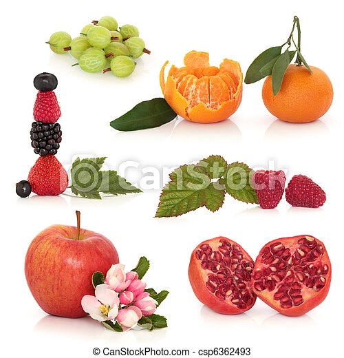 Healthy Fruit Selection - csp6362493