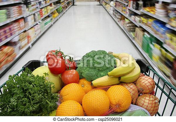 Healthy groceries - csp25096021