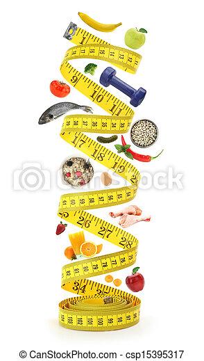 Healthy lifestyle concept - csp15395317