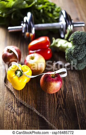 Healthy lifestyle concept - csp16485772