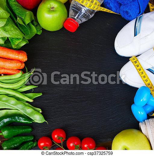 healthy lifestyle concept - csp37325759