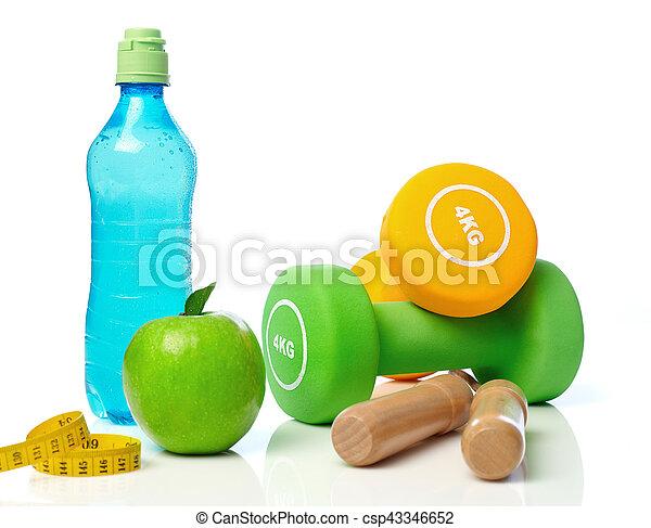 Healthy lifestyle concept - csp43346652