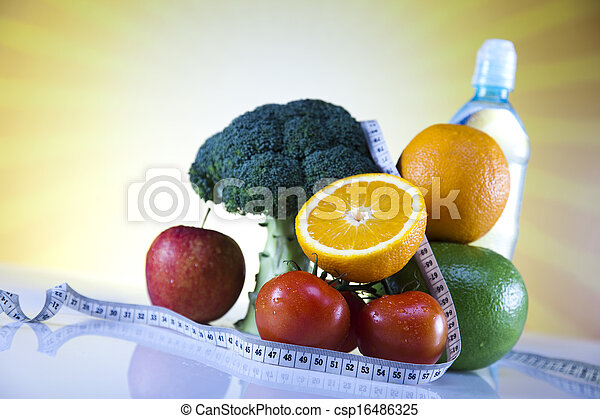 Healthy lifestyle concept - csp16486325