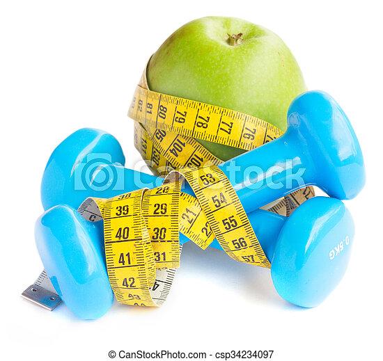 healthy lifestyle concept - csp34234097
