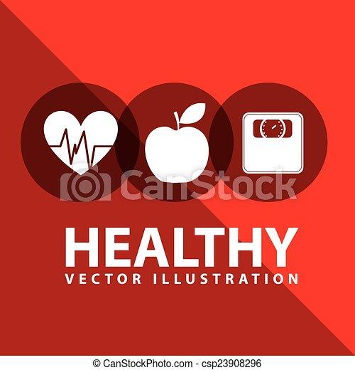 healthy lifestyle - csp23908296