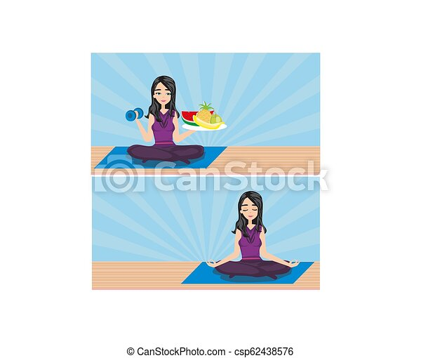 healthy lifestyle - csp62438576