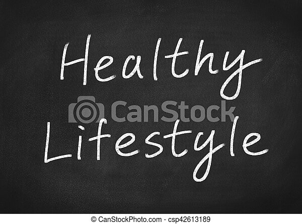 healthy lifestyle - csp42613189
